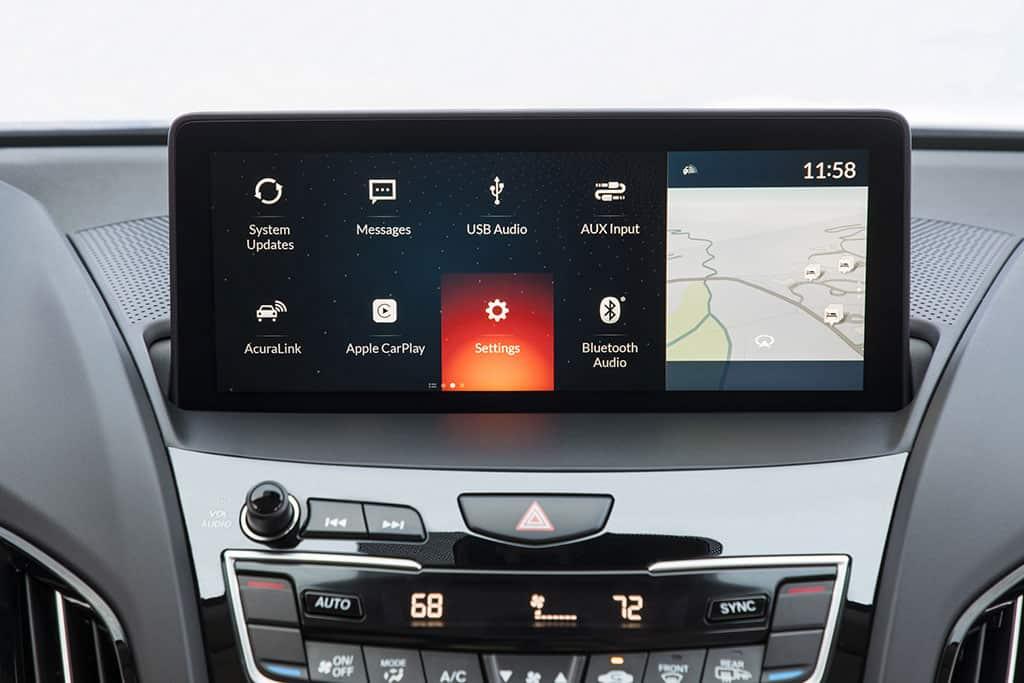 Interfaz True Touchpad del Acura recibe excelentes calificaciones