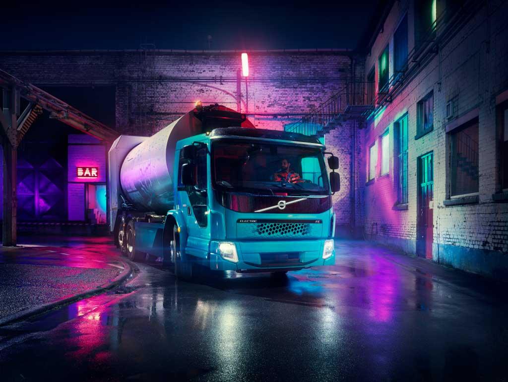 Volvo Trucks presentó su visión de futuro