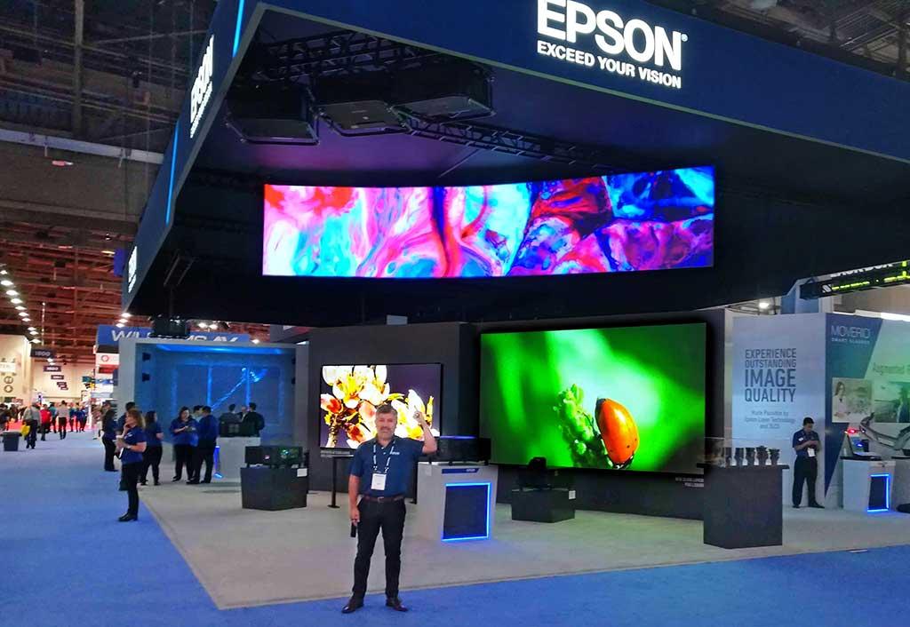 Epson fue protagonista durante Infocomm 2018