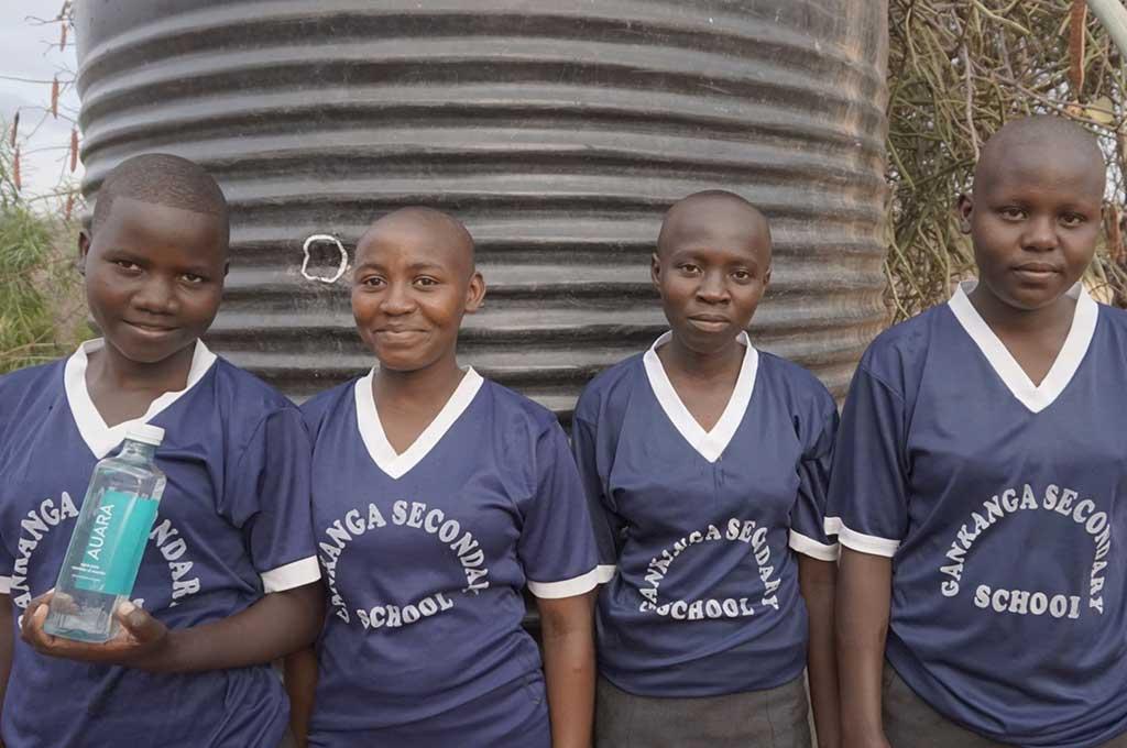 AUARA y Ahorramas llevan 730 mil litros de agua potable a Kenia