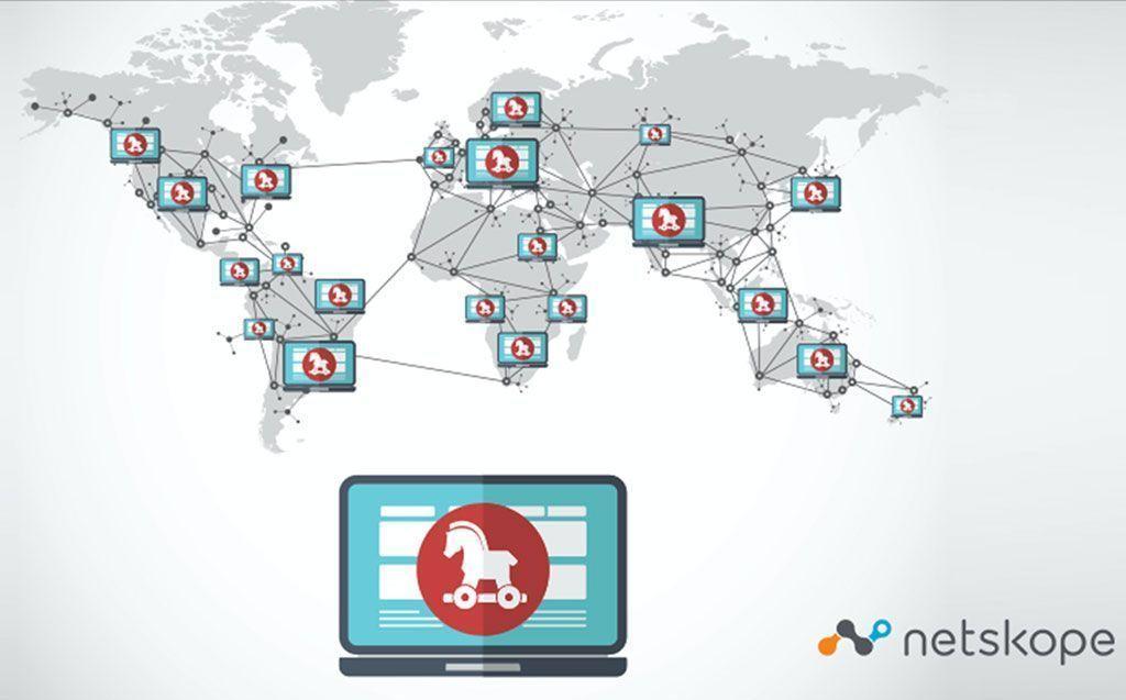 El malware elige diversas aplicaciones cloud para esconderse