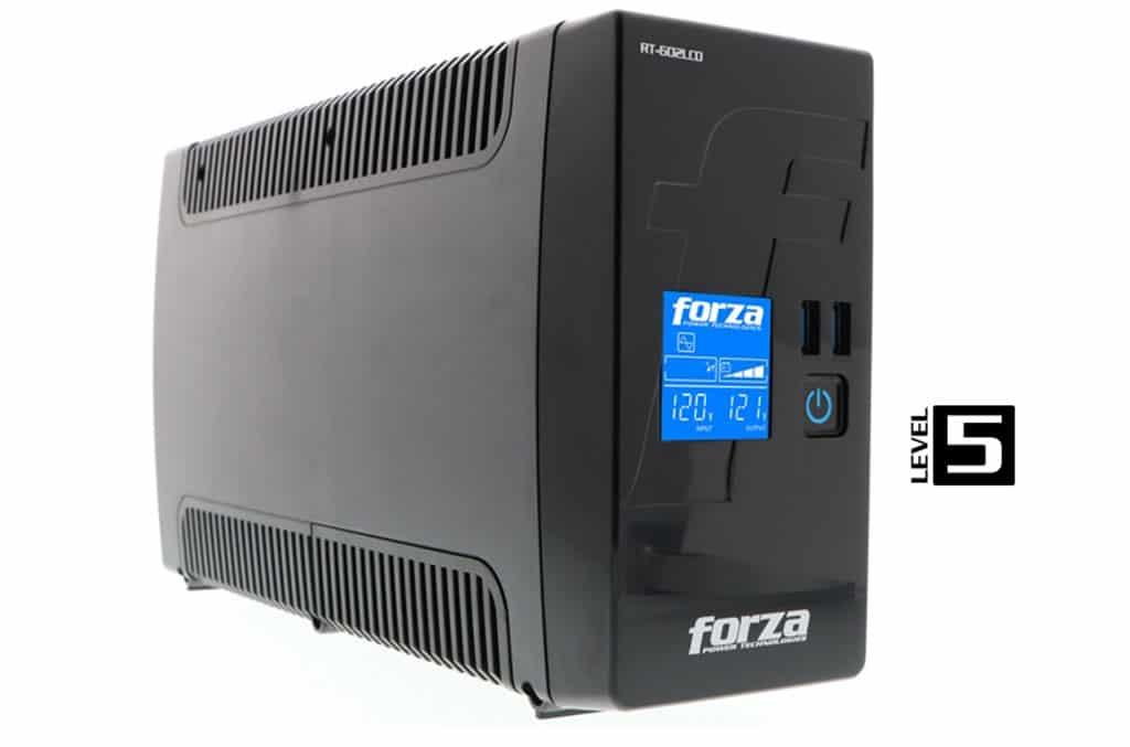 Nuevo UPS RT-602LCD de Forza