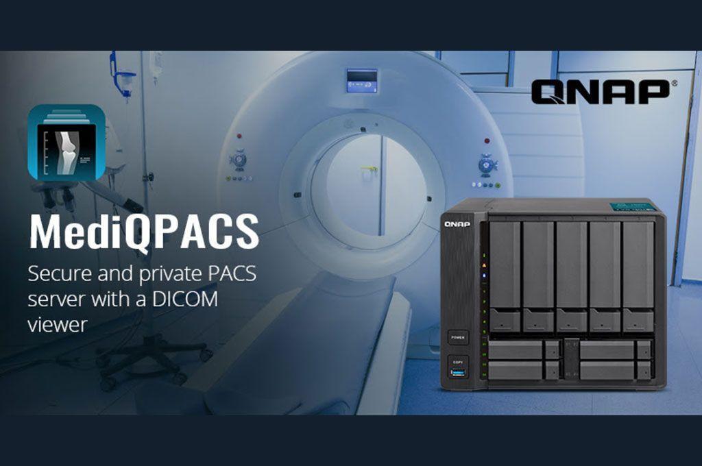 QNAP lanza MediQPACS para la Medicina Digital