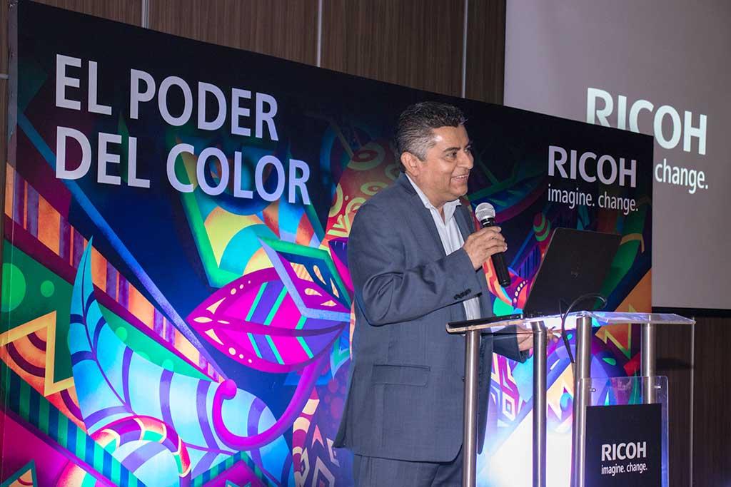 Ricoh Perú presentó nuevo portafolio de artes gráficas