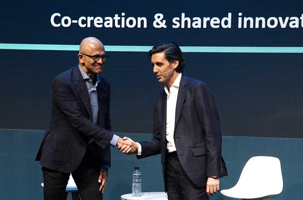 Telefónica y Microsoft establecen una alianza estratégica