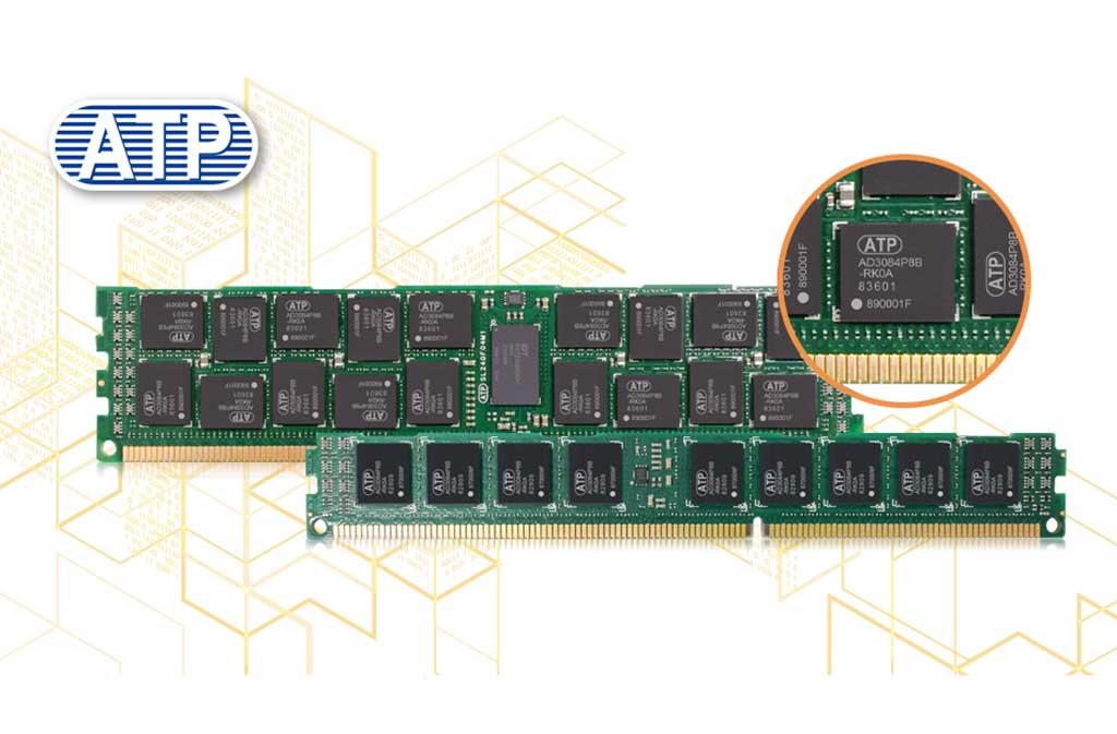 ATP ofrece nueva gama de módulos y componentes DDR3 de 8 Gbit