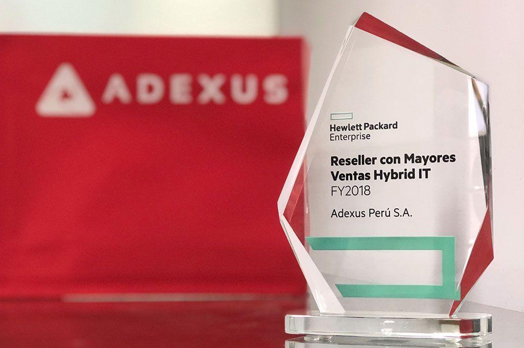 Adexus Perú es reconocido por HPE