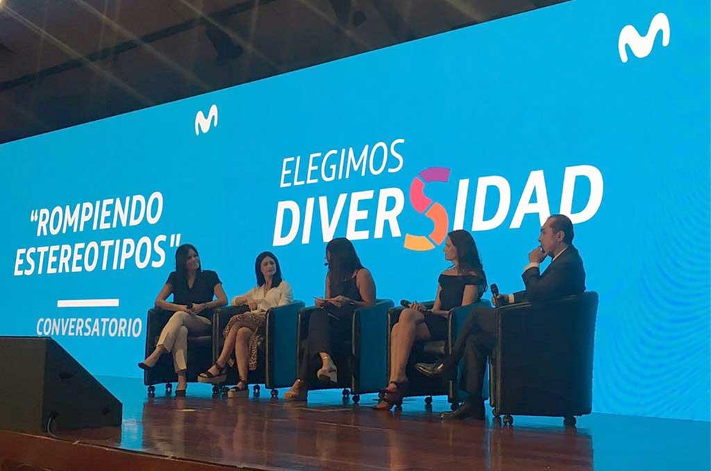 Conversatorio «Rompiendo Estereotipos» de Movistar