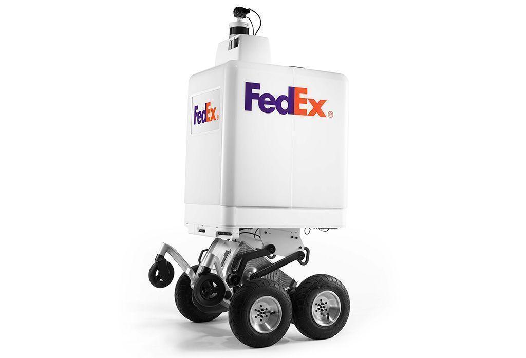 FedEx presenta el robot de entrega autónoma SameDay Bot