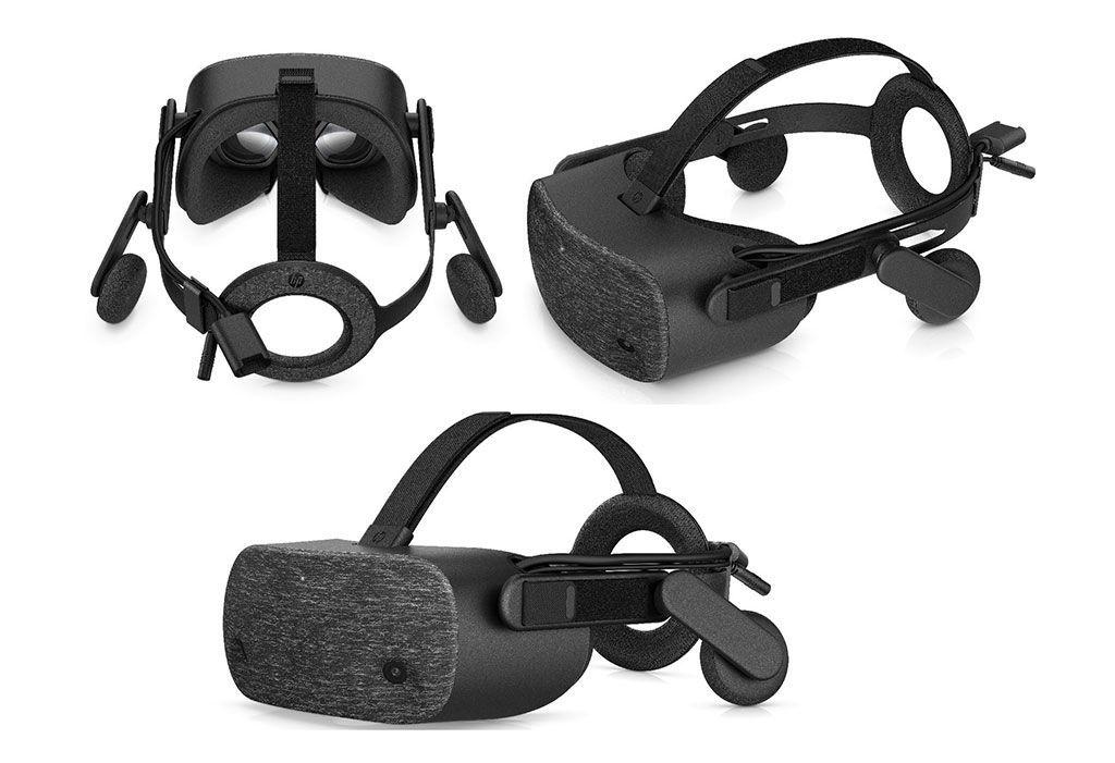HP presenta HP Reverb nuevo casco de Realidad Virtual