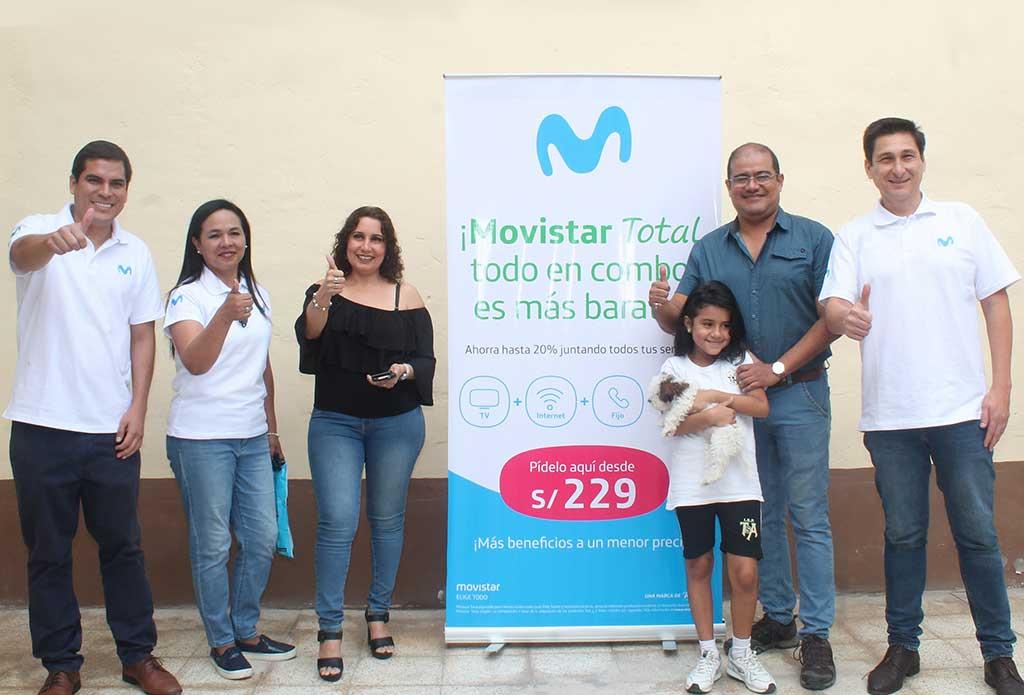 Movistar Total llega a 20 mil clientes a nivel nacional