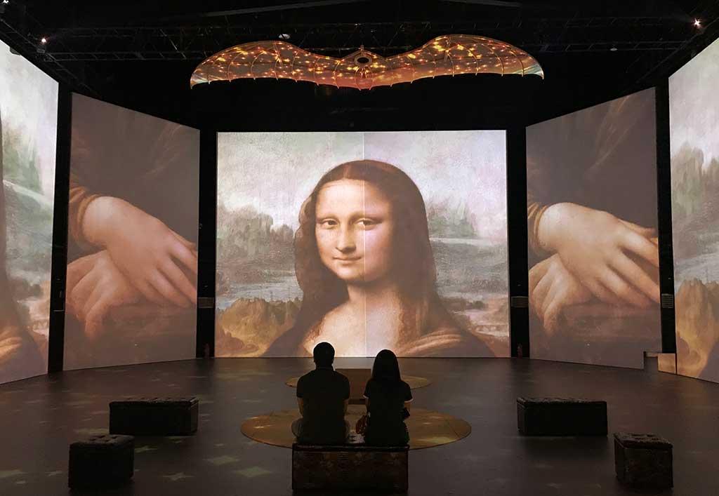 «Da Vinci Experience»: más de 5 mil personas asistieron en la primera semana