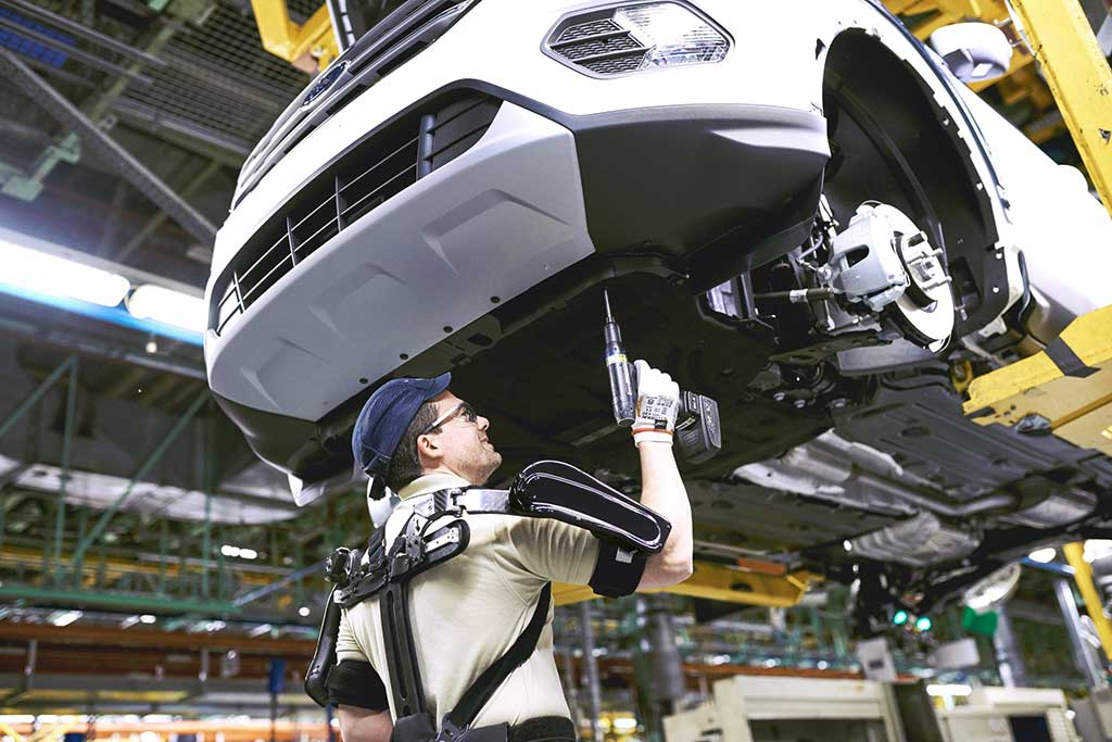 Exoesqueletos de la planta valenciana de Ford ganan premio