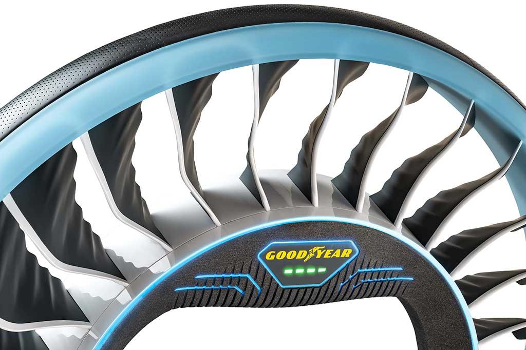 Goodyear AERO servirá de hélice para los coches voladores autónomos del futuro