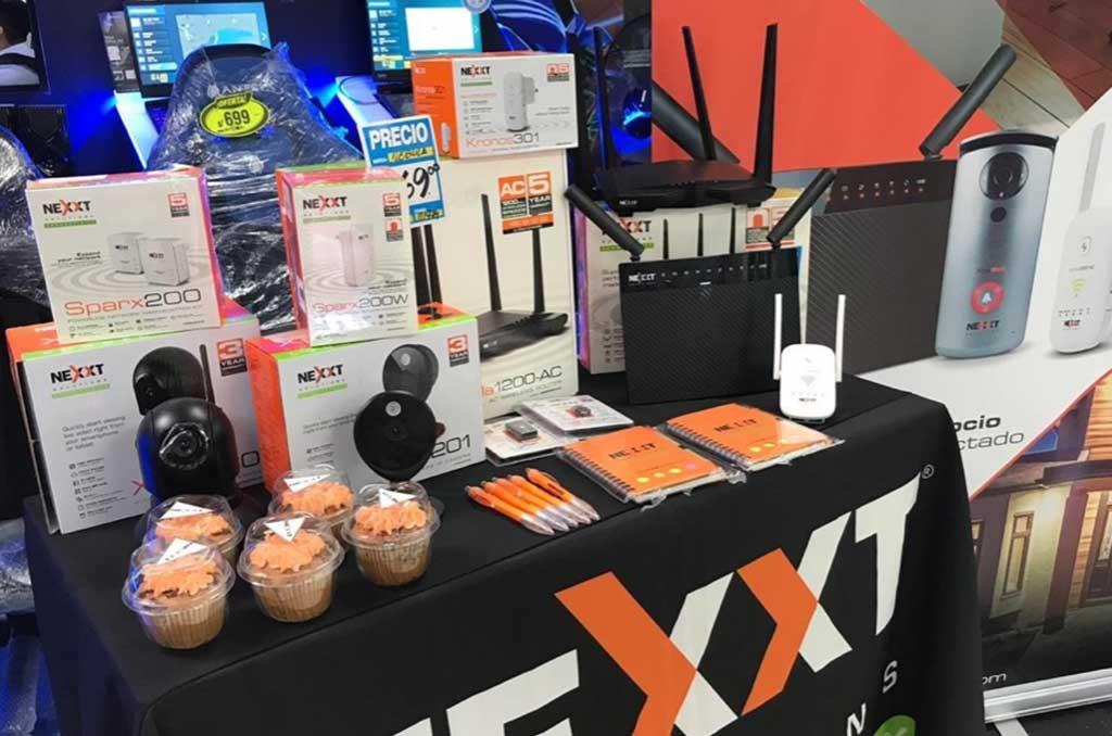 Nexxt Solutions Connectivity  realiza activaciones en Hiraoka