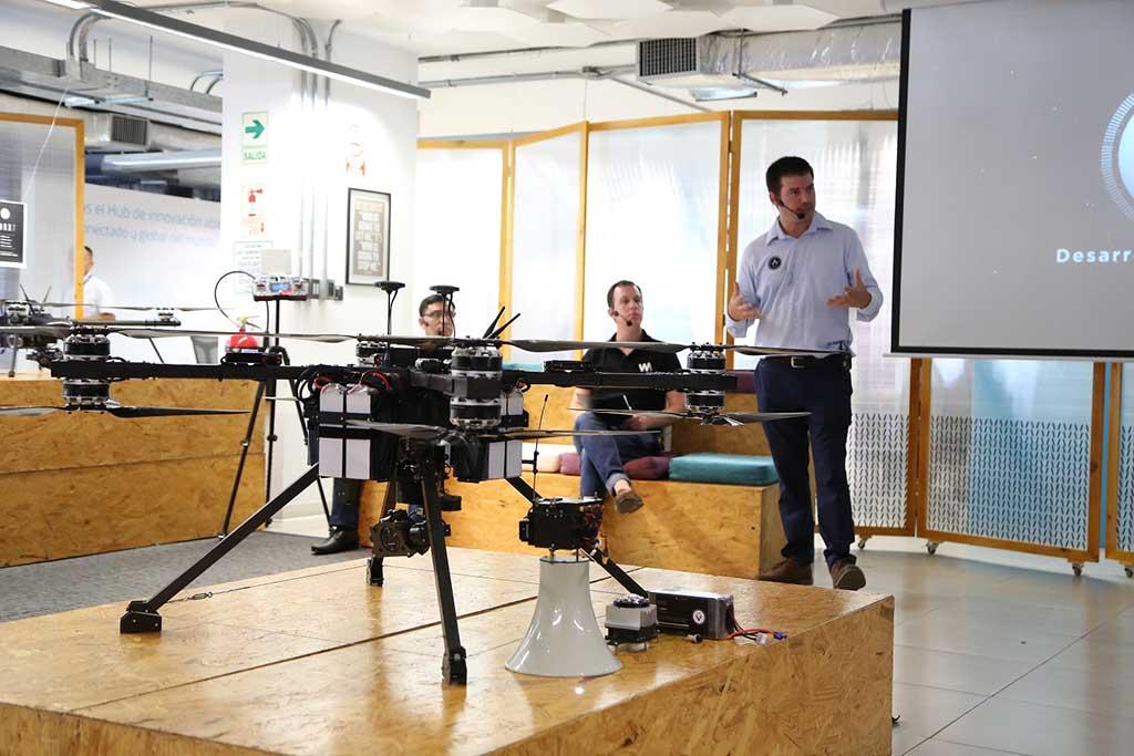 Presentan a Pisqu un dron peruano para atención de desastres naturales