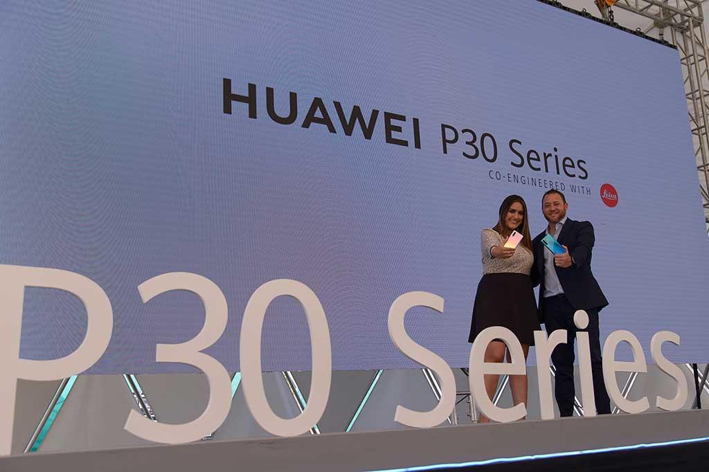 Serie Huawei P30 llegó a Perú en tiempo récord