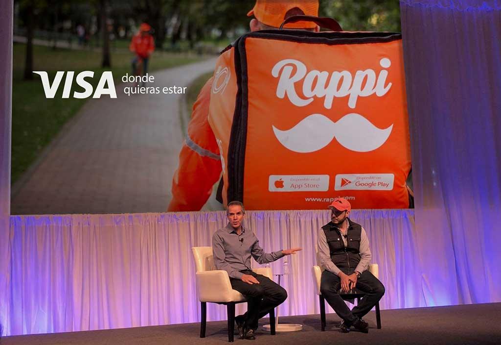 Visa y Rappi firman alianza estratégica