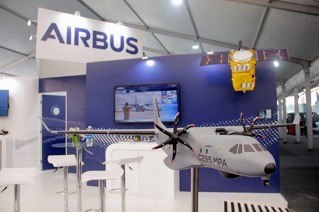 Airbus exhibió en SITDEF Perú sus productos