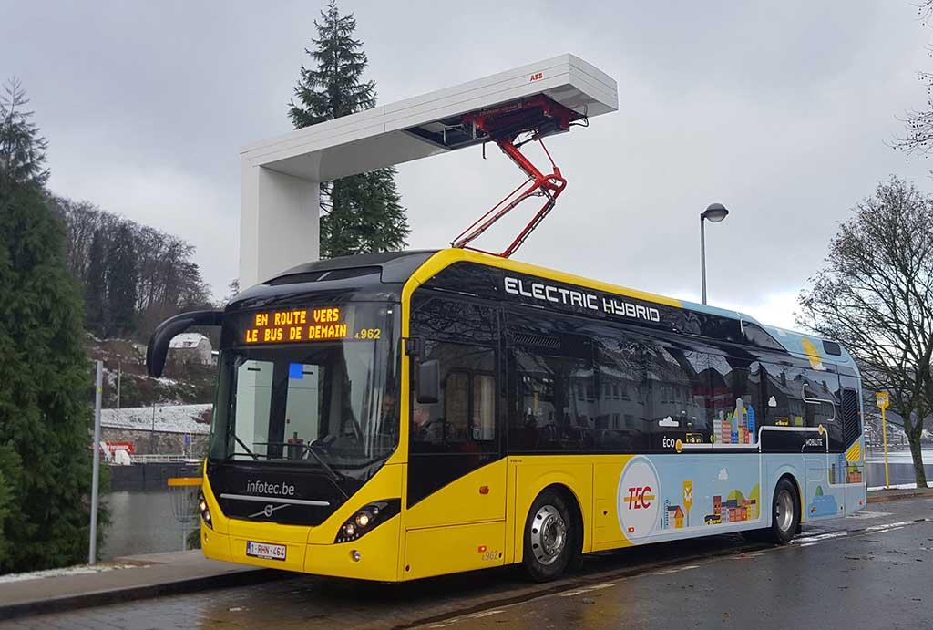 Baterías usadas de buses eléctricos Volvo se reciclan