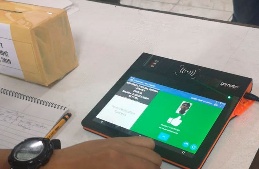 COMELEC de Filipinas elige la solución biométrica de Gemalto
