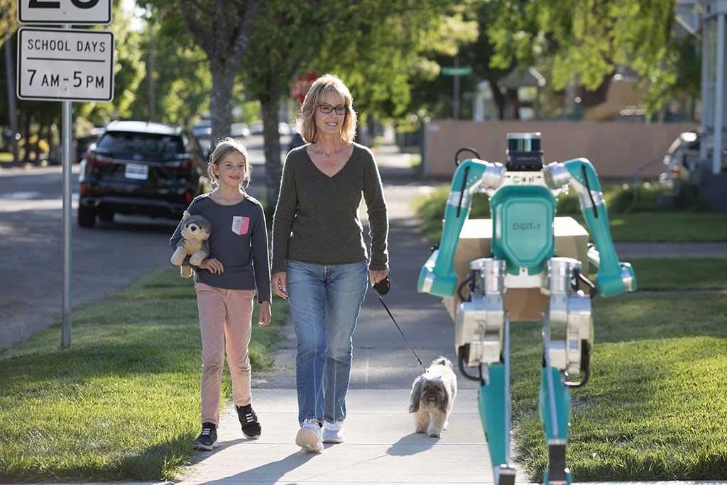 Ford junto a Agility Robotics desarrolla prototipo Digit