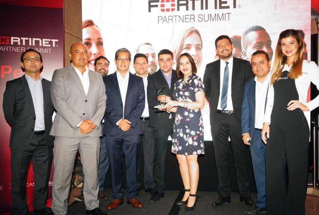 Fortinet premia a Telefónica del Perú