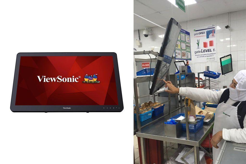 Gate Gourmet destaca el éxito de la solución ViewSonic