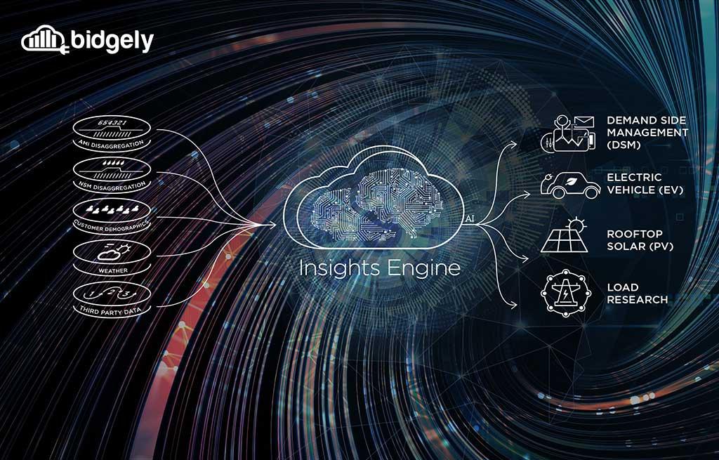 Insights Engine de Bidgely provee inteligencia empresarial aumentada