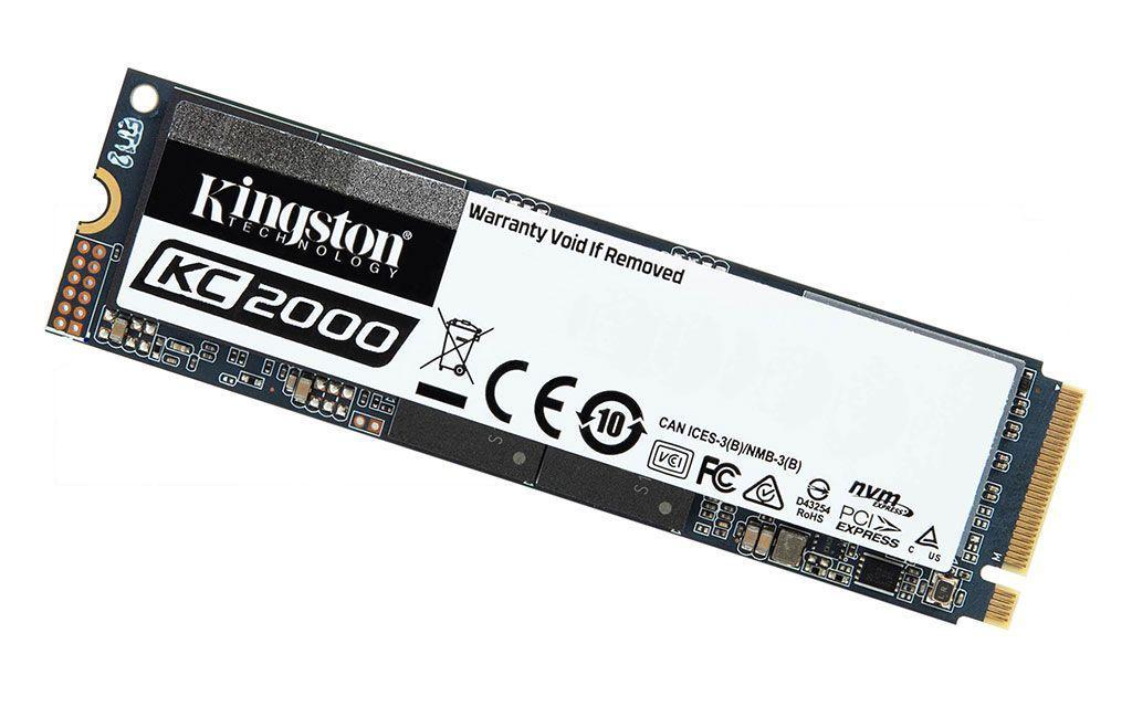 Kingston presenta el KC2000 NVMe PCIe SSD de última generación