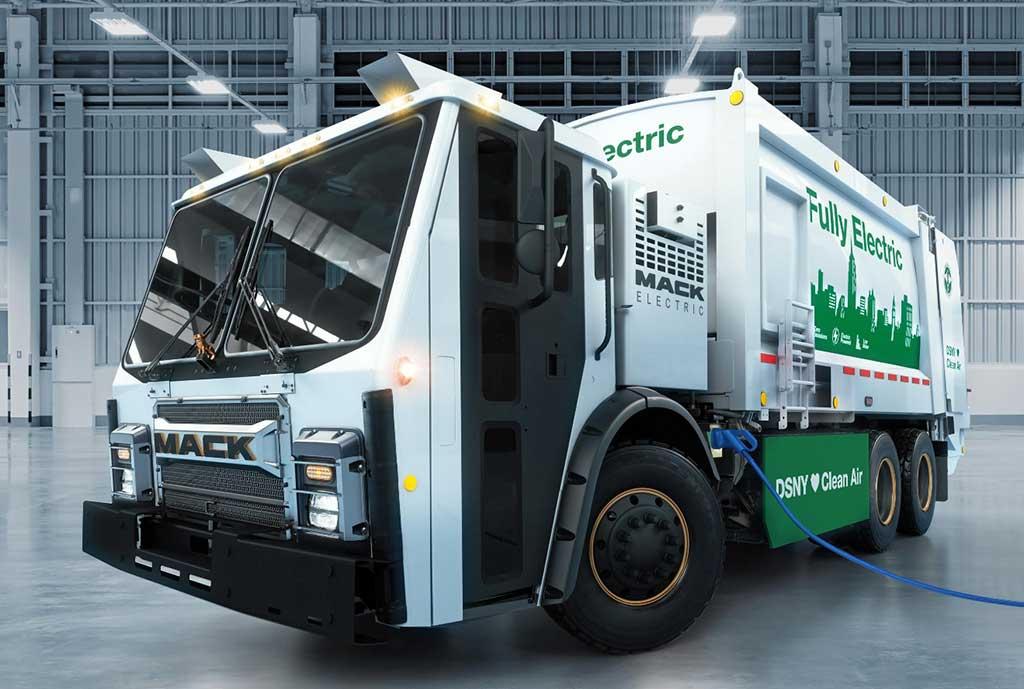 Mack Trucks presenta Mack LR vehículo completamente eléctrico