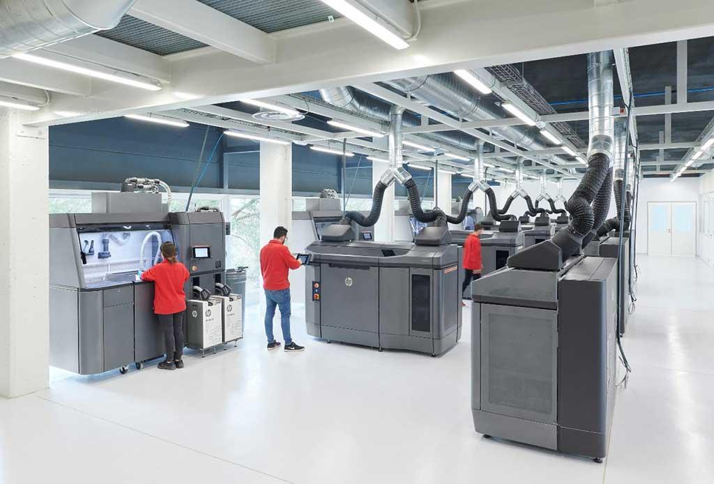 Materialise expande innovador trabajo con HP