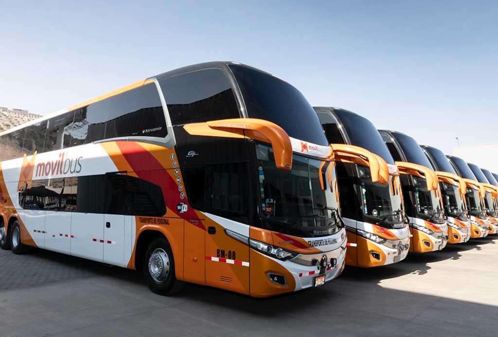 Movil Bus adquiere flota de buses Volvo