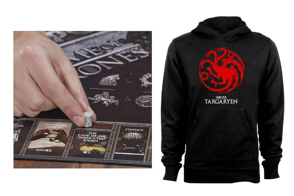 Productos más demandados en Internet de Game Of Thrones