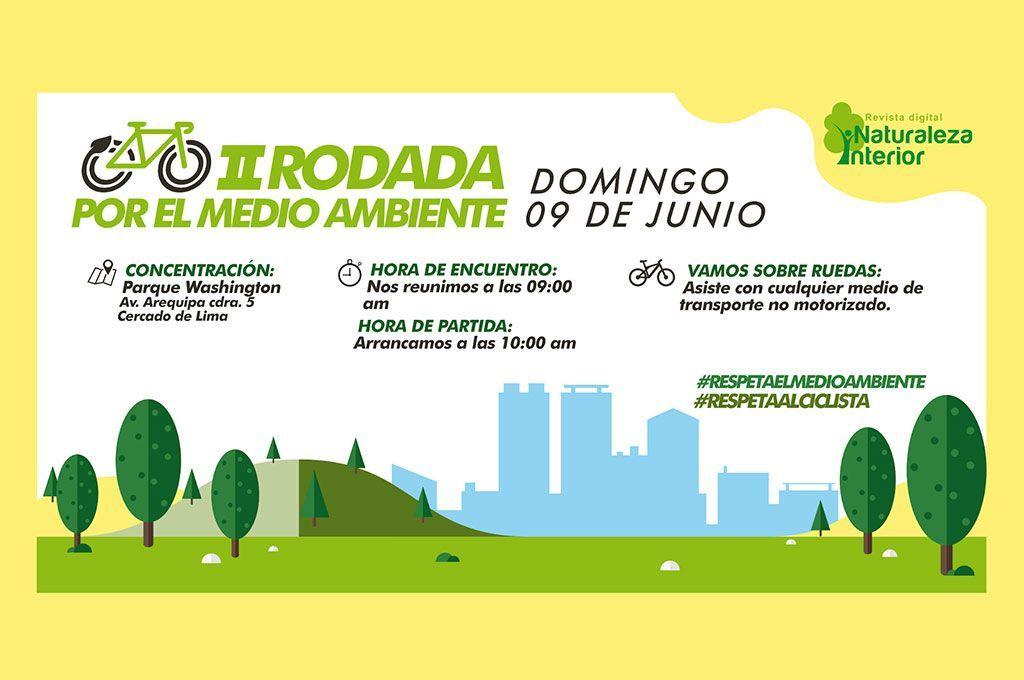 Regresa la gran «Rodada por el Medio Ambiente» Lima 2019