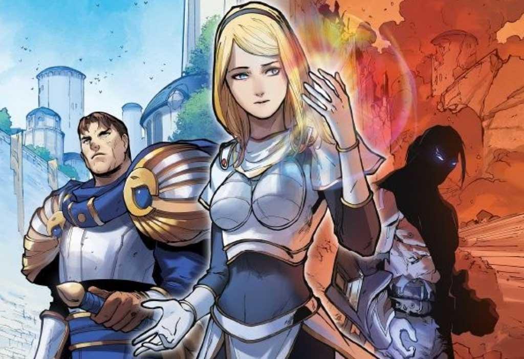 Riot Games y Marvel lanzan el primer tomo de Lux