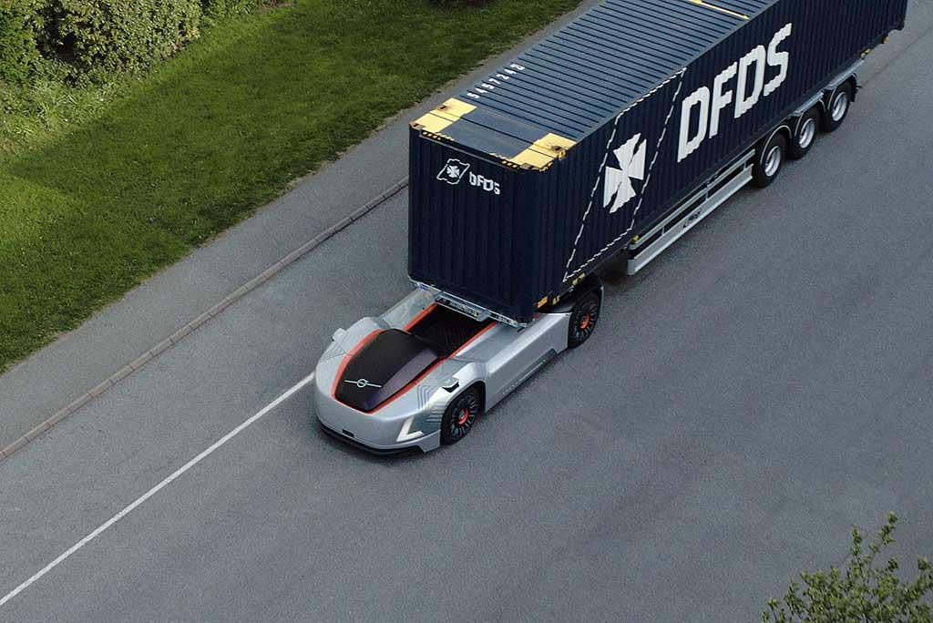 Camión autónomo Vera de Volvo inicia operaciones
