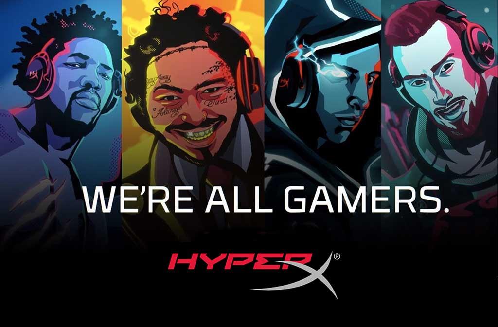 HyperX expande campaña «We're All Gamers» hacia Europa y Asia