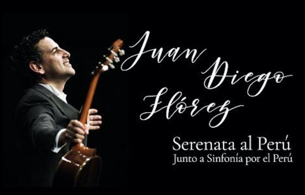 Juan Diego Flórez cantará en la Plaza Mayor de Lima junto a Sinfonía por el Perú