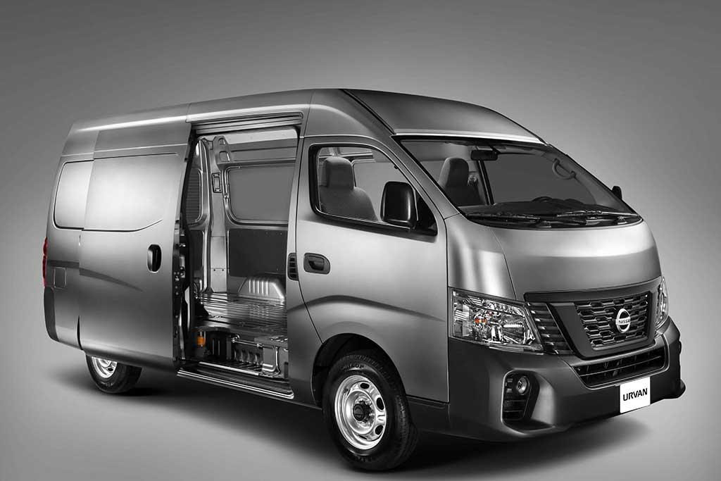 Nissan lanza en Perú las nuevas Urvan Cargo