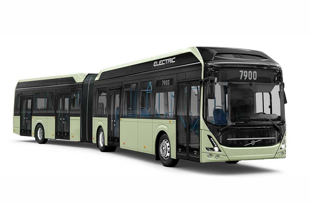Nuevo bus eléctrico Volvo 7900 articulado