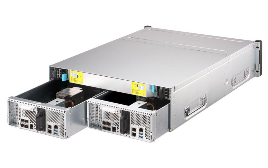 QNAP lanza nuevo NAS ZFS ES1686dc para empresas con doble controlador