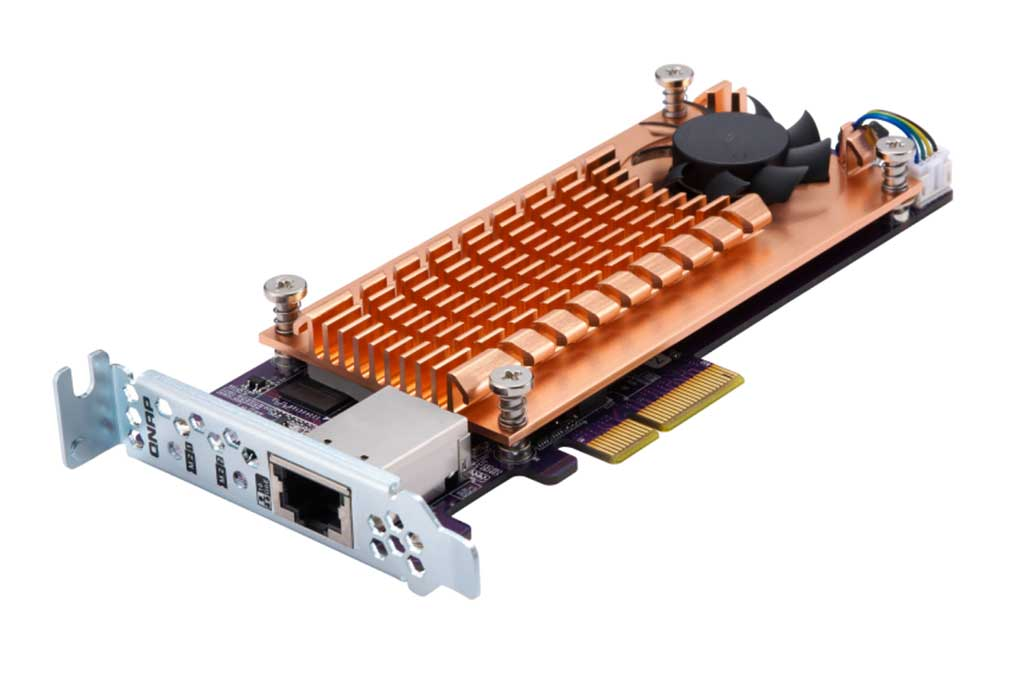 QNAP presenta nuevas tarjetas PCIe QM2