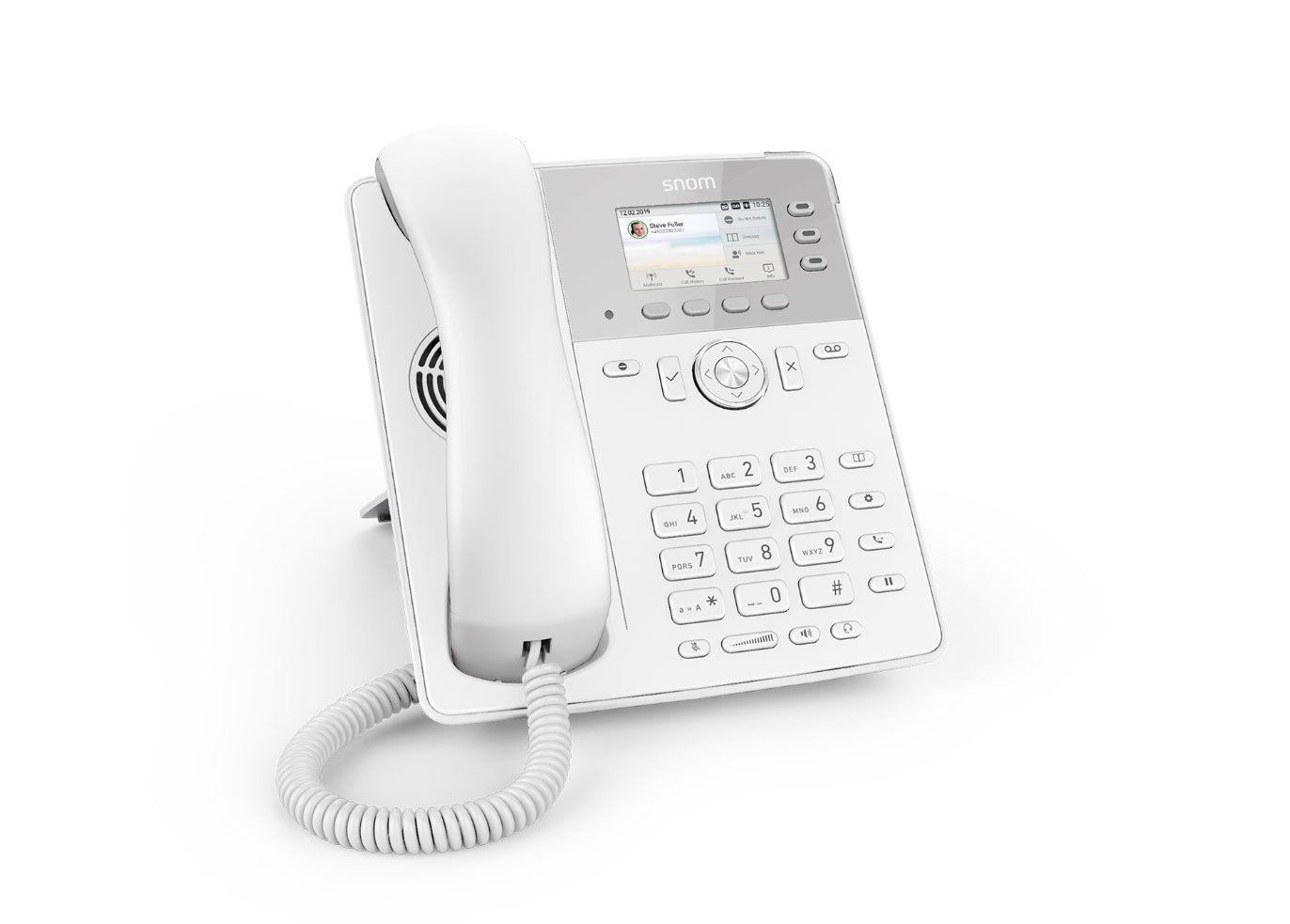 Snom lanza nuevo teléfono fijo VoIP D717