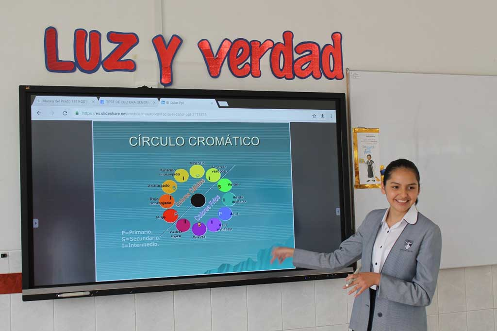 Sophianum de Arequipa implementa pantallas interactivas ViewSonic