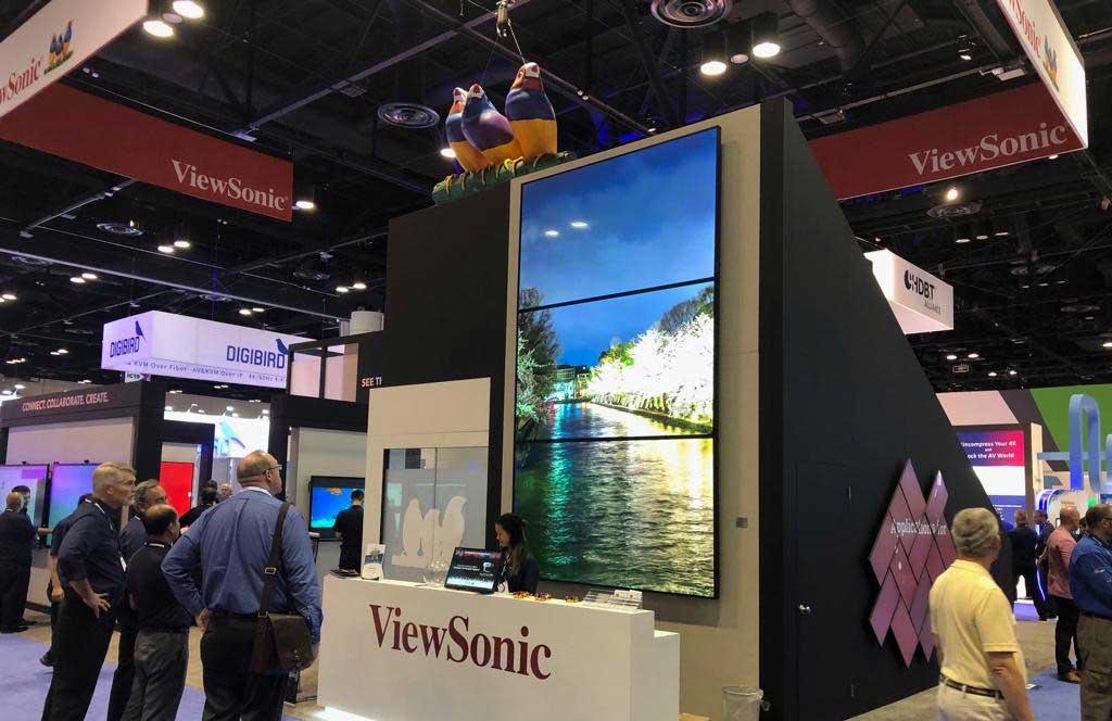 ViewSonic presenta en InfoComm 2019 soluciones integrales