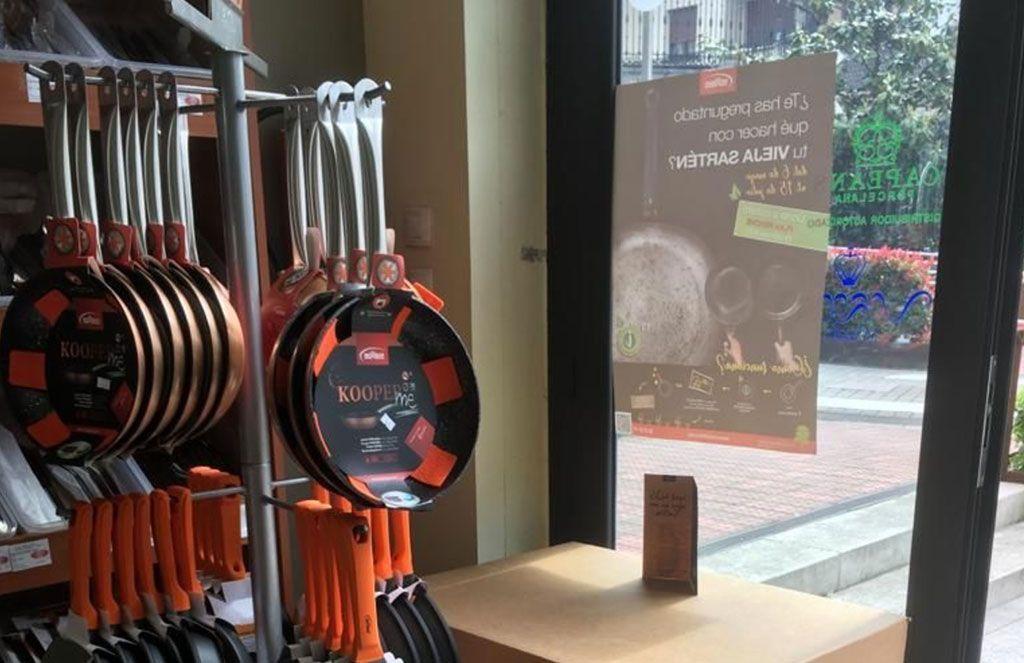 Empresa española Inoxibar impulsa el reciclaje de sartenes