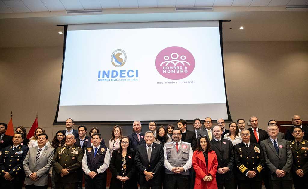 INDECI y el SEP reconocen a empresas que entregaron más de 800 toneladas de ayuda humanitaria