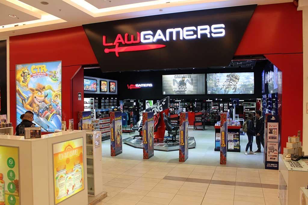 LAWGAMERS inauguró nueva tienda