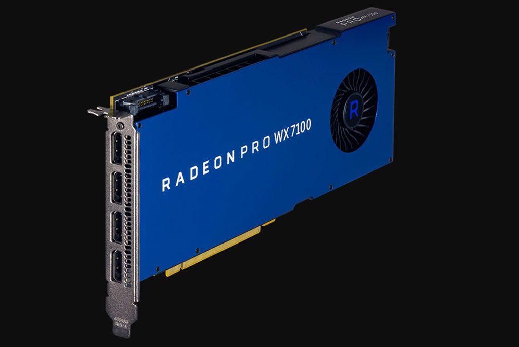 Nueva AMD Radeon Pro WX 3200